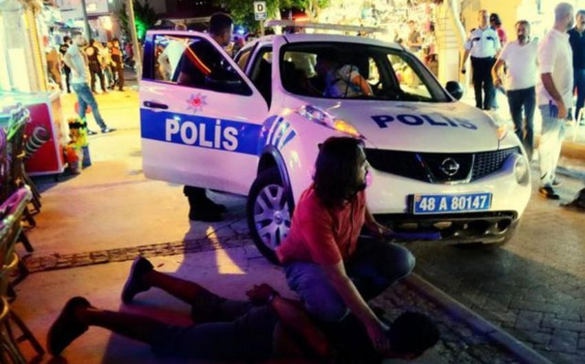 Türkiyədə baş vermiş kütləvi davada 14 nəfər xəsarət alıb - FOTO