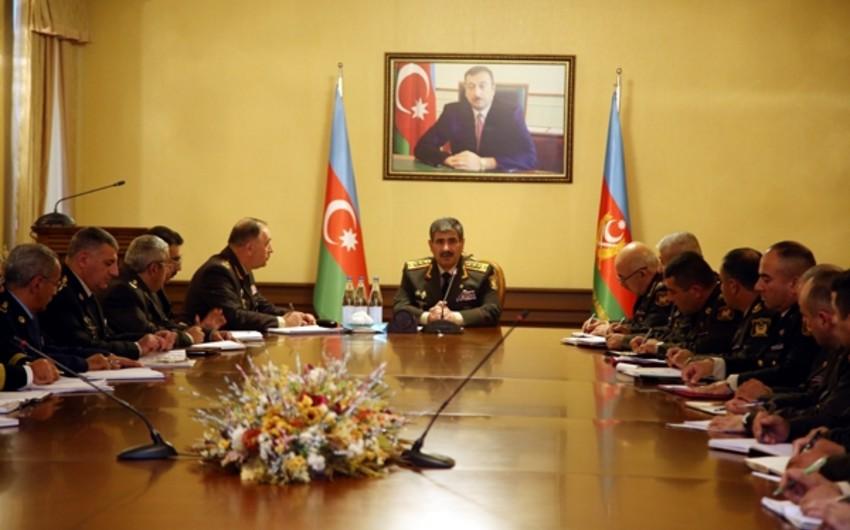 """General-polkovnik Zakir Həsənov: """"Düşmənə vurulan sarsıdıcı zərbələr davamlı olacaq"""""""