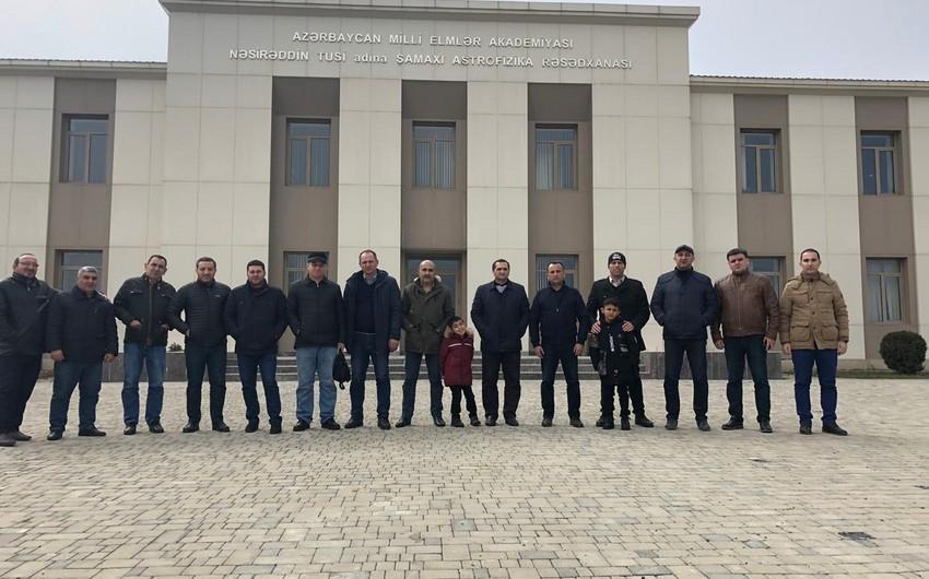 Azərbaycanın bir qrup jurnalisti Şamaxıya səfər edib