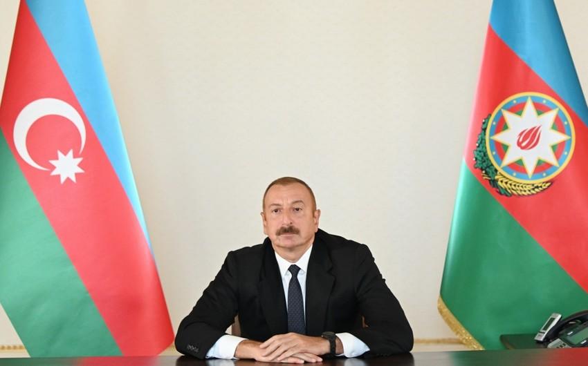 """İlham Əliyev:  """"Bu, erməni faşizminin növbəti təzahürüdür"""""""