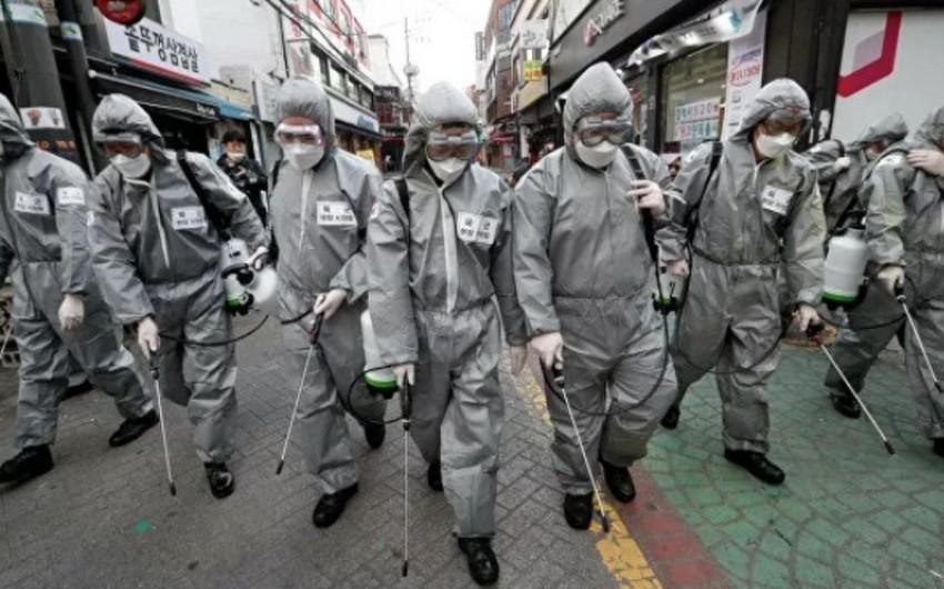 Cənubi Koreyada koronavirusa yoluxanların sayı 10,2 min nəfərə çatdı