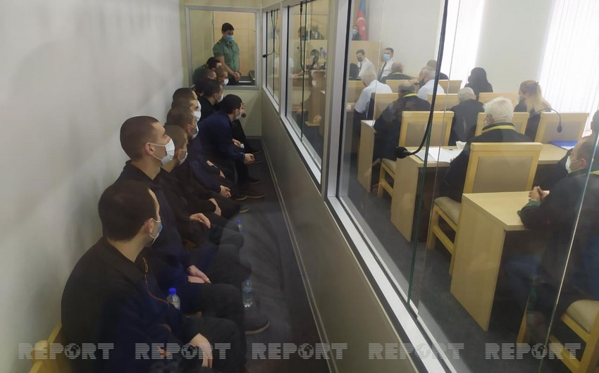 Trial of 13 members of Armenian armed formations continue  - UPDATED