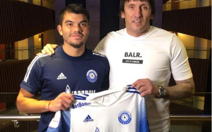 Ukraynalı futbolçu Rusiya klubuna keçdi