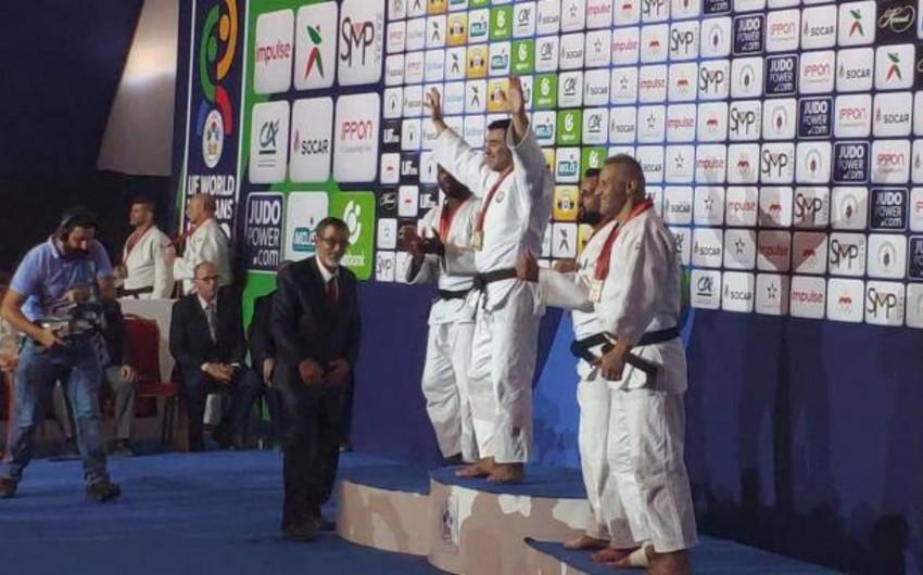 Азербайджанские дзюдоисты завоевали еще две медали на чемпионате мира - ФОТО