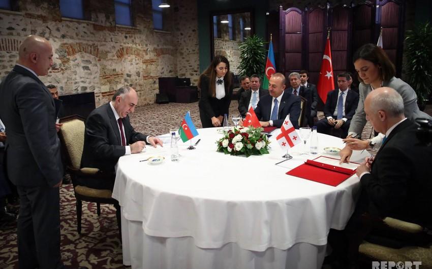 Azərbaycan, Gürcüstan və Türkiyə XİN başçılarının İstanbul bəyannaməsinin mətni açıqlanıb