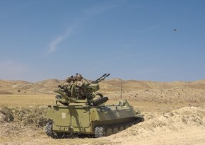 Tactical-special exercises in air defense units of Azerbaijani army