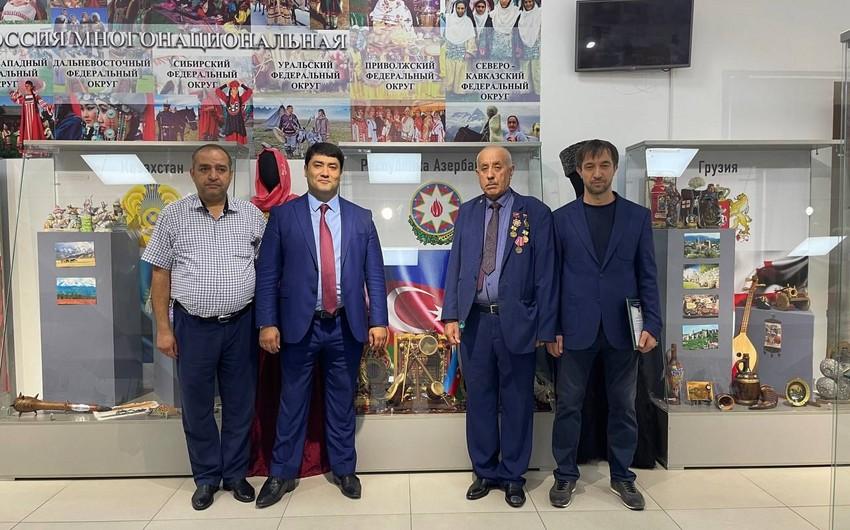 Dağıstanda Azərbaycan diasporunun üzvləri ilə görüş keçirilib