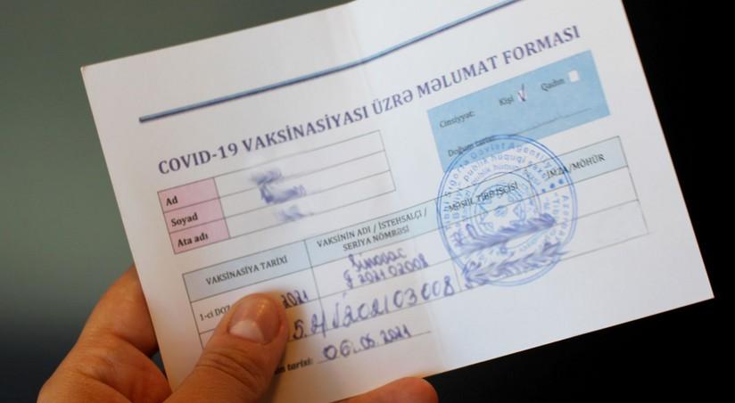 Lerikdə COVID-19 pasportları hazırlayan həkim müəyyən edilib