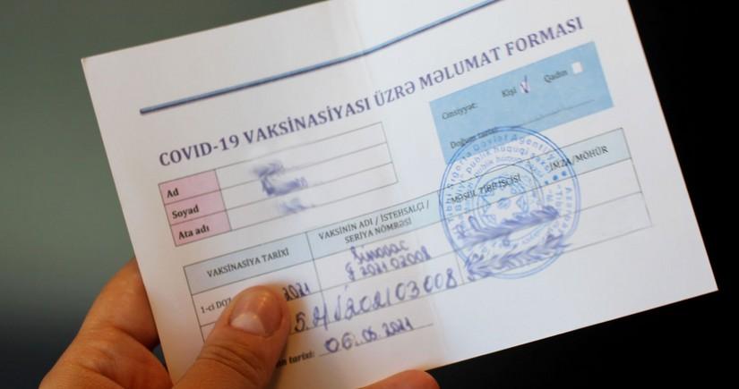 COVID-19 pasportları hazırlayan həkim müəyyən edilib