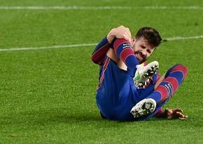 Barselonanın əsas müdafiəçisi yenidən zədələndi