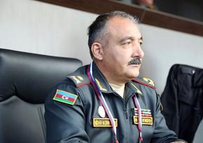 """Quru Qoşunları komandanı Moskvada """"Tank biatlonu"""" müsabiqəsinin final mərhələsini izləyir"""