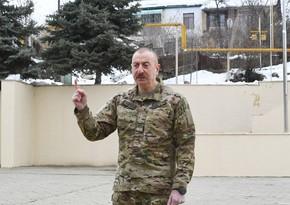 Dövlət başçısı: Tuğ erməni kəndi olsaydı, bunu dağıdardı?