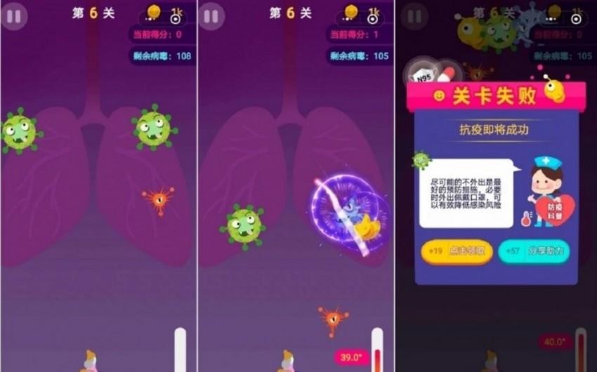 Koronavirusla bağlı mobil oyun istifadəyə verildi
