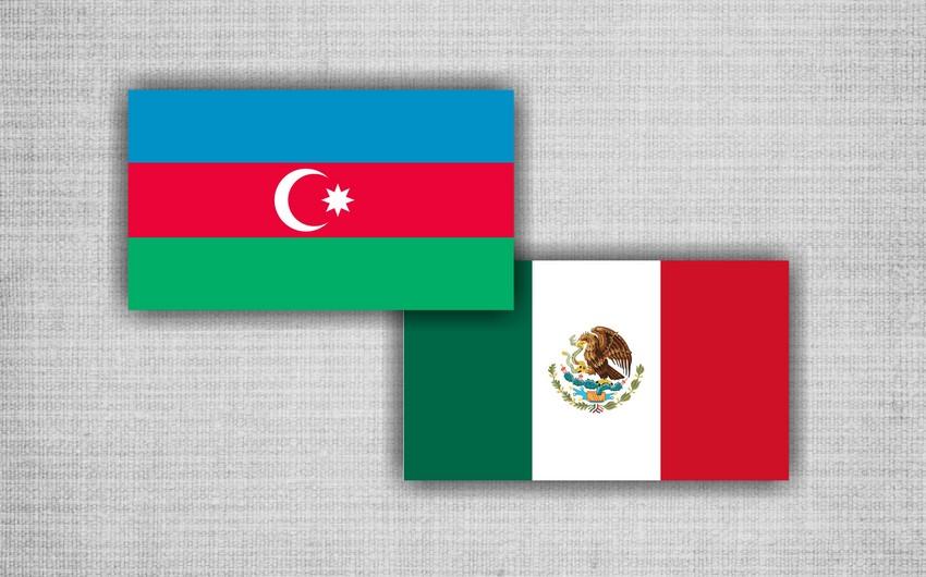 Meksika ilə Azərbaycan arasındakı əməkdaşlıq müzakirə edilib