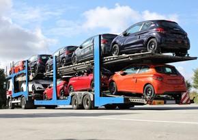 Азербайджан увеличил импорт автомобилей на 20%
