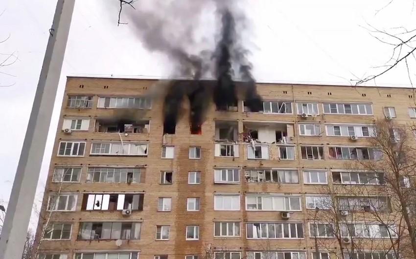 Rusiyada yaşayış binasında partlayış olub: 3 nəfər ölüb, 4 nəfər yaralanıb - YENİLƏNİB
