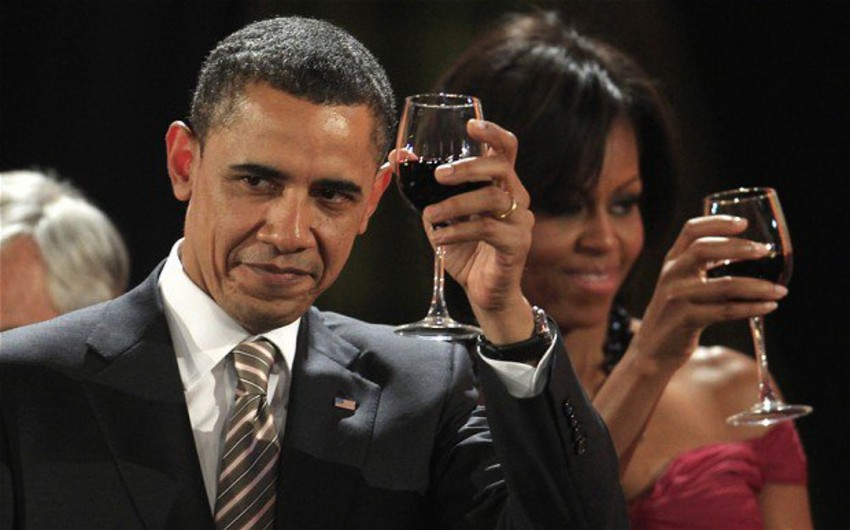 ABŞ şou-biznesinin ulduzları Barak Obamanın vida şənliyində iştirak ediblər