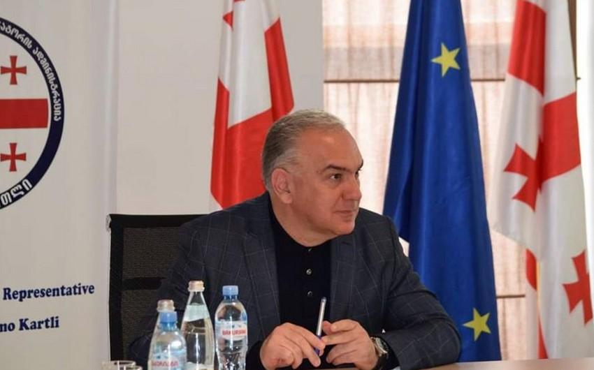 Qubernator: Heydər ƏliyevGürcüstanla dostluq münasibətlərinin inkişafında böyük rol oynayıb