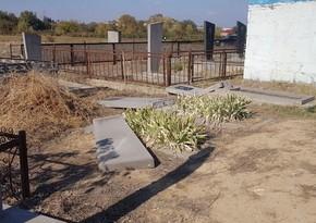 Graves of Azerbaijanis destroyed in Georgia - PHOTO