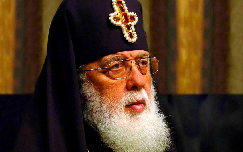 Gürcüstan patriarxı cəbhədəki qarşıdurma ilə bağlı bəyanat yaydı