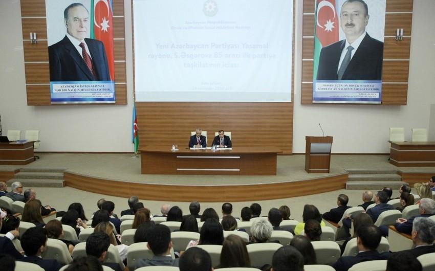 Nazirliyin 160 əməkdaşı YAP-a üzv olmaq üçün müraciət edib
