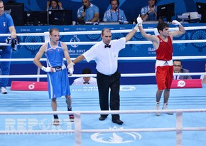 Azerbaijan add 16th gold to medal count as Mamishzade shines in men`s boxing fly weight category