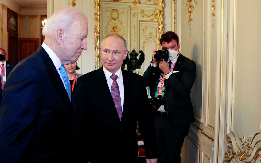 ABŞ və Rusiya liderlərinin görüşü başa çatıb