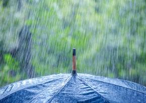 Ən çox yağış hansı rayonlara yağıb?