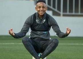 Afrikalı futbolçu Bakı klubu ilə müqaviləni yeniləyə bilər