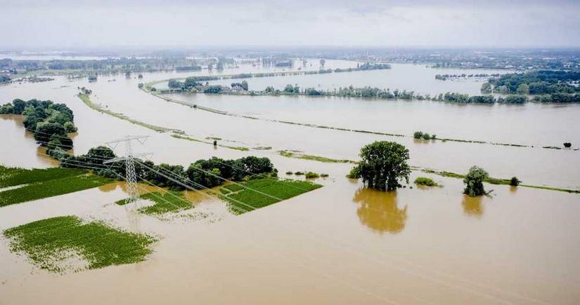 Разрушительный потоп добрался до Австрии