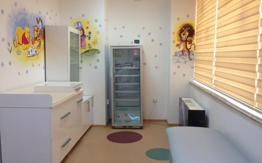 Tibb Universitetinin Tədris Terapevtik Klinikasında müasir peyvənd otağı yaradılıb