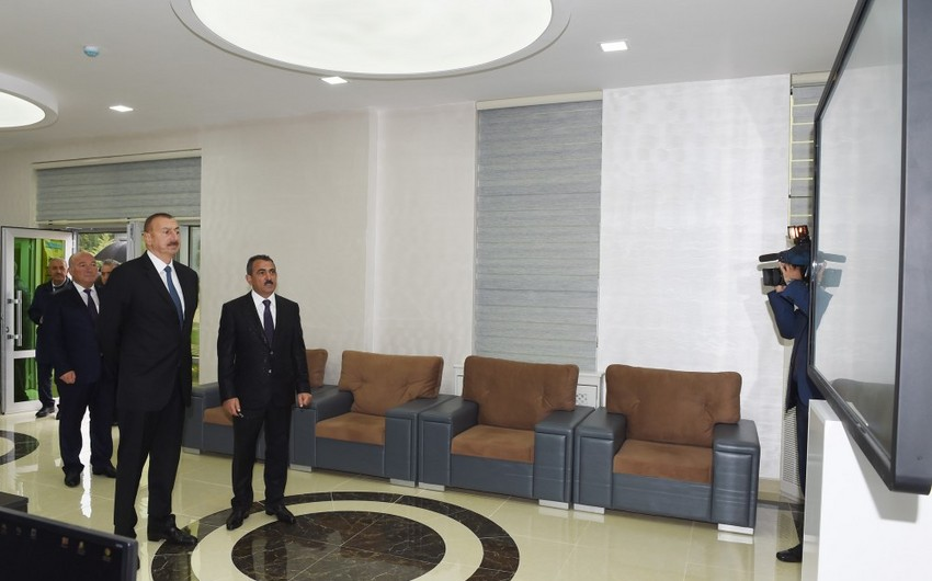 President Ilham Aliyev launches water supply project in Shamakhi