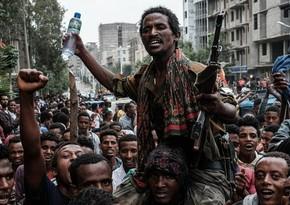 Efiopiyada üsyançılar 100-dən çox mülki şəxsi öldürüb
