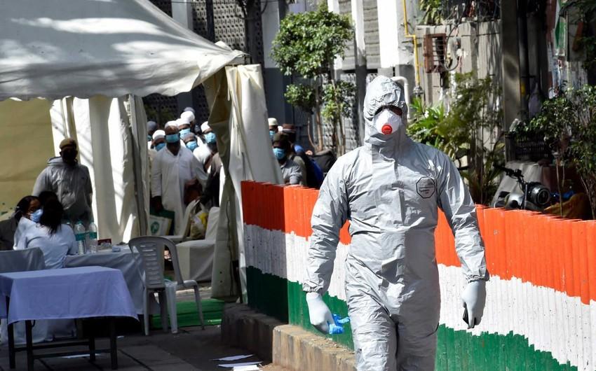Hindistanda ən az gündəlik yoluxma qeydə alınıb