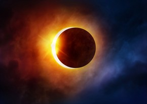 First solar eclipse of year starts