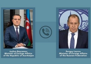 Foreign Ministers of Azerbaijan and Russia hold telephone conversation