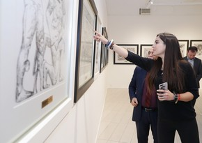 В Музее современного искусства открылась выставка Карабахнаме  страницы истории народного художника Арифа Гусейнова