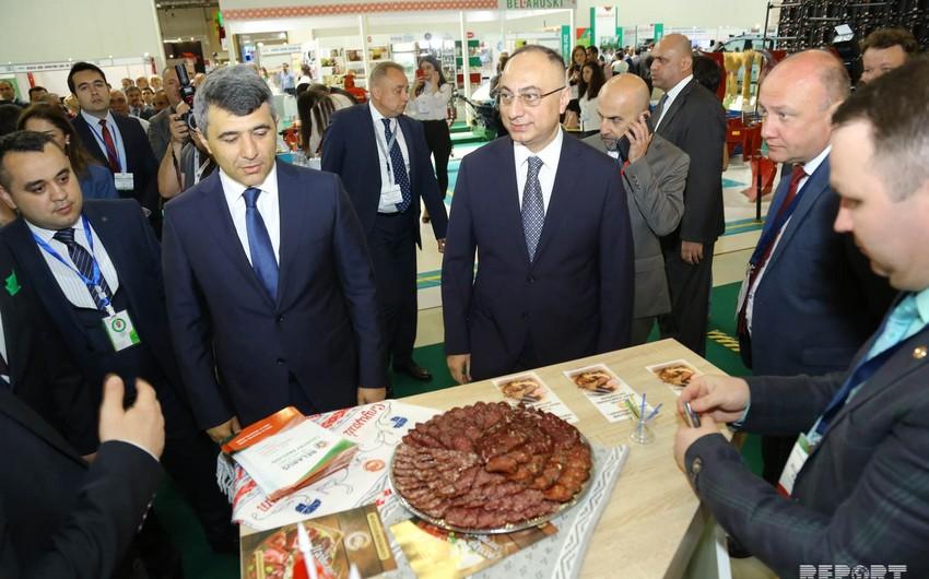 Bakıda 13-cü Azərbaycan Beynəlxalq Kənd Təsərrüfatı Sərgisi açılıb
