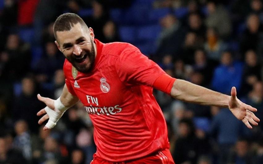 Benzema Realın 2018/2019-cu il mövsümündə ən sürətli qolunu vurub