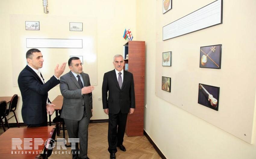 Vasif Talıbov Batumi Dövlət Universitetində olub