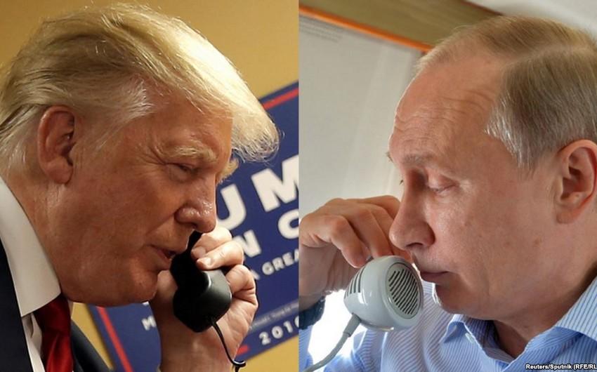 Trampla Putin arasında telefon danışığı olacaq