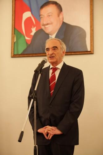 В Москве состоялся торжественный прием в честь 97-й годовщины создания ВС Азербайджана