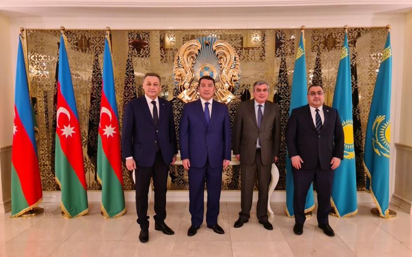 Qazaxıstan və Azərbaycan  -