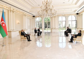 Ilham Aliyev receives credentials of incoming Turkish ambassador