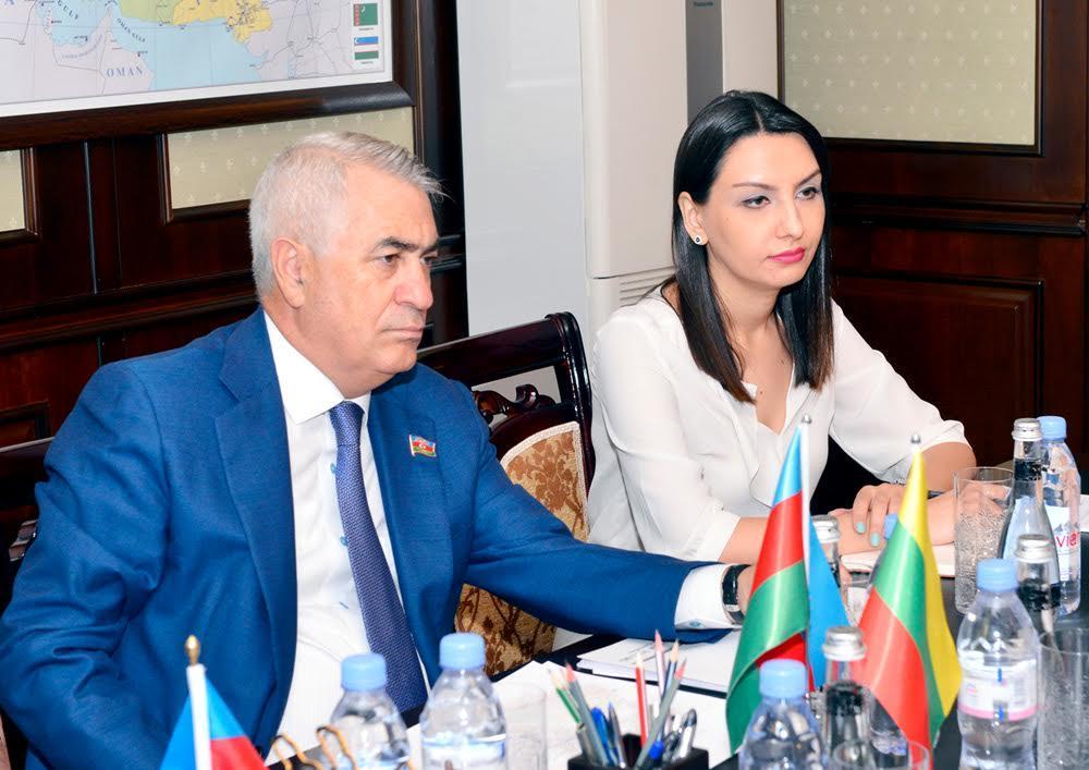 В Азербайджане обсудили проект Viking Train