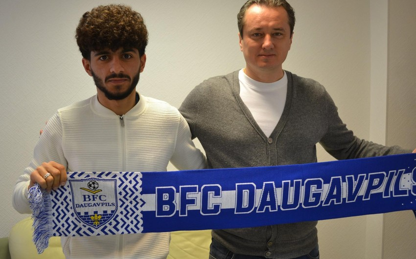 Член сборной Азербайджана заключил контракт с латвийским клубом