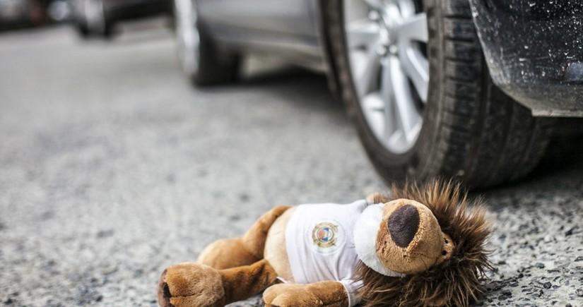 В Масаллы автомобиль сбил 5-летнего ребенка