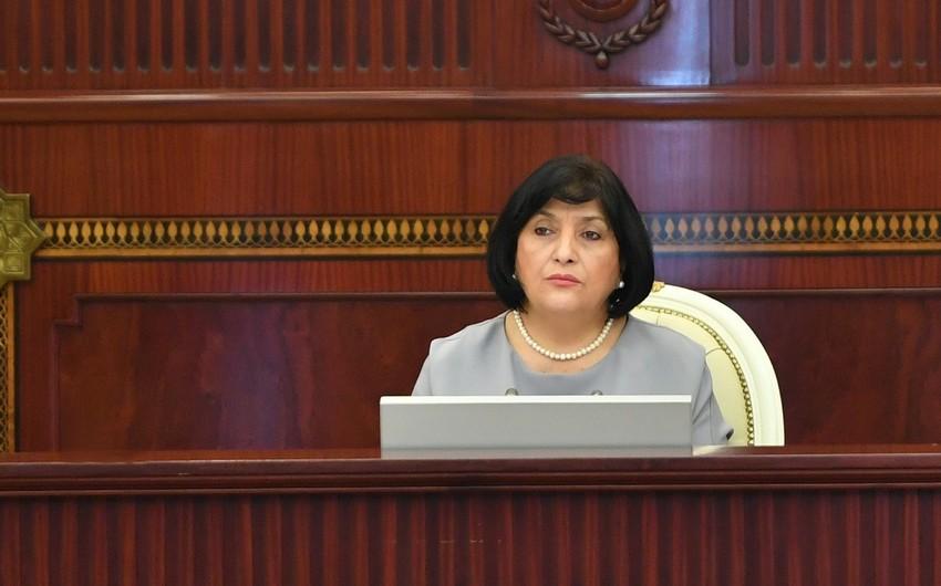 """Sahibə Qafarova: """"Parlament cəmiyyətdə mövcud olan siyasi qüvvələrin, cərəyanların spektrini tam əks etdirir"""""""