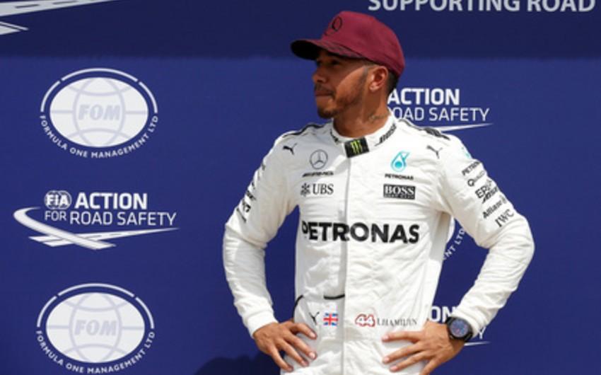 Formula 1 üzrə Böyük Britaniya Qran-prisi: Lüis Hemillton qalib olub