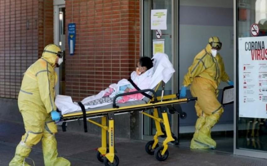İspaniyada koronavirusa yoluxanların sayı 220 000-ə çatır